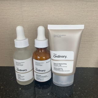 The ordinary The No-Brainer set(美容液)