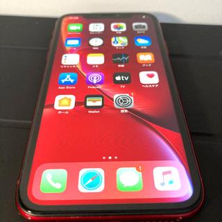iPhone - iPhoneXR 64GB product RED 本体 SIMロック解除
