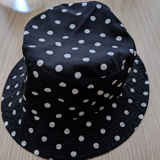 ユニクロ(UNIQLO)の《未使用》ユニクロ ドット 帽子 ハット(ハット)