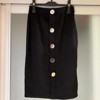 ザラ(ZARA)のZARA フロントボタンタイトスカート(ひざ丈スカート)
