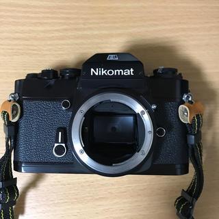 ニコン(Nikon)のNikon ニコマートEL ブラックボディ 中古並品(フィルムカメラ)