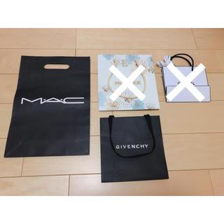 マック(MAC)のデパコス ショッパー 2点セット(ショップ袋)