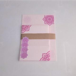 ピンク系1~レターセット~(カード/レター/ラッピング)