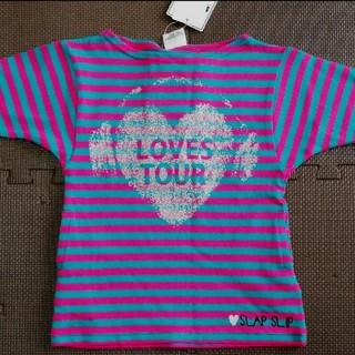 ベベ(BeBe)の【未使用タグ付】SLAP SLIP  トップス  Tシャツ 80㎝(Tシャツ/カットソー)