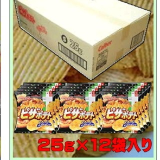 カルビー - ピザポテト 25g×12袋