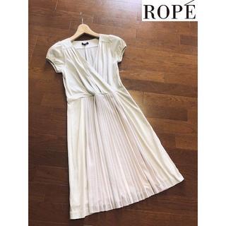 ROPE - ロペROPE★プリーツ切替カットソーワンピース