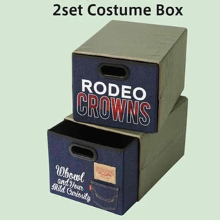 ロデオクラウンズワイドボウル(RODEO CROWNS WIDE BOWL)のロデオクラウンズ 新品 ノベルティ 収納ボックス ケース(ノベルティグッズ)
