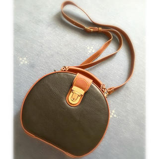 moussy - moussy ステッチショルダーバッグ