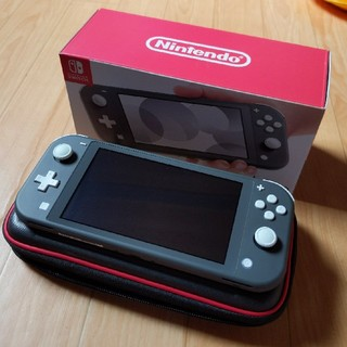 Nintendo Switch - Nintendo Switch Liteグレー ケース&カバー
