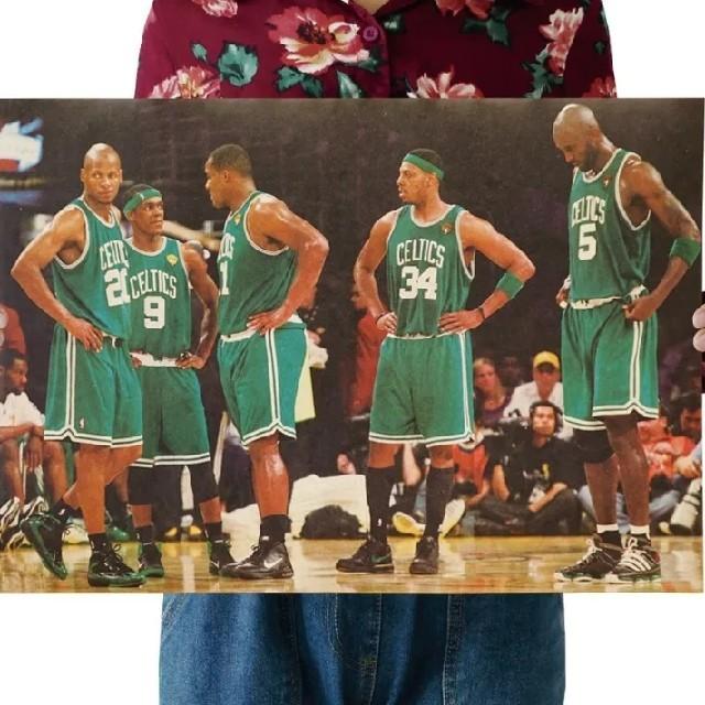 ❞ラスト❞新品NBAポスター≫2008年❋NBAチャンピオン❋セルティックス✧ スポーツ/アウトドアのスポーツ/アウトドア その他(バスケットボール)の商品写真