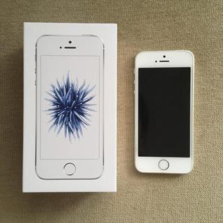 iPhone - iPhone SE Silver 32 GB SIMフリー