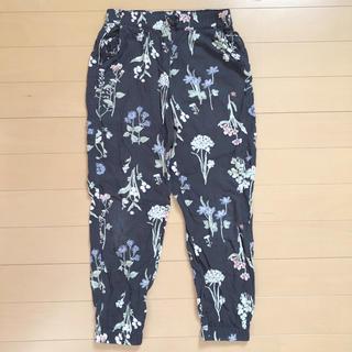 H&M - H&M  花柄 パンツ 120
