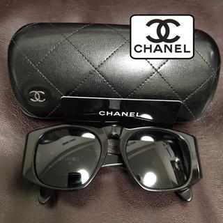 シャネル(CHANEL)のCHANEL  黒 ゴールド ココマーク サングラス(サングラス/メガネ)