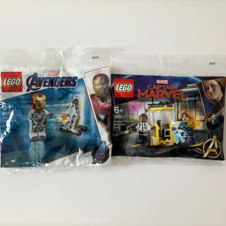 レゴ(Lego)のレゴ LEGO 30452 アイアンマン 30453 キャプテンマーベル(SF/ファンタジー/ホラー)