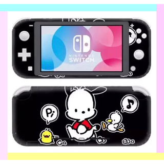 ニンテンドースイッチ(Nintendo Switch)の◎SALE◎ポチャッコ② 任天堂SwitchLite 保護スキンシール✦汚れ防止(その他)