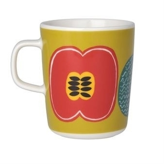 マリメッコ(marimekko)の【美品】marimekko マグカップ コンポッティ マリメッコマグ(グラス/カップ)