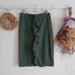 ZARA - ZARA リネンスカート(Mサイズ)
