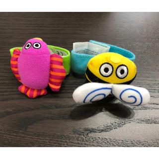サッシー(Sassy)のSassy ガラガラおもちゃ リストバンド 2個セット(がらがら/ラトル)