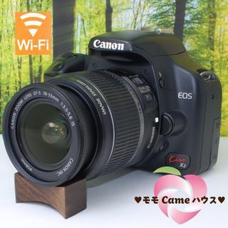 Canon - キヤノン Kiss X2☆スマホ転送OK☆入門一眼レフ♪#106500