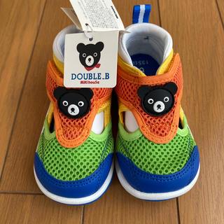 DOUBLE.B - DOUBLE.B子供用サンダル13.5㌢