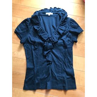 ナラカミーチェ(NARACAMICIE)の未着用⭐︎ナラカミーチェ綿フリルカットソー⭐︎サイズ1(カットソー(半袖/袖なし))