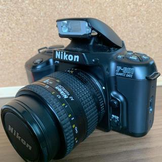 ニコン(Nikon)のニコン Nikon F-601 QUARTZ DATE +ズームレンズ 取説付(フィルムカメラ)