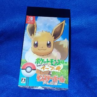 ニンテンドースイッチ(Nintendo Switch)のポケットモンスターLet's Go!イーブイ モンスターボール Plusセット(家庭用ゲームソフト)