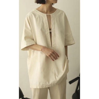 TODAYFUL - todayful cotton pique blouse