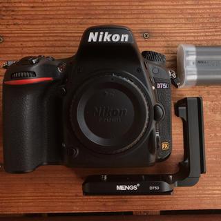Nikon - Nikon D750 シャッター数わずか ワンオーナー品 元箱・付属品一式完備