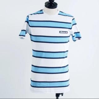 エレッセ(ellesse)のellesse ボーダーT ロゴ メンズTシャツ(Tシャツ/カットソー(半袖/袖なし))