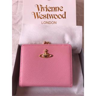 Vivienne Westwood - 【未使用の正規品】ヴィヴィアン ピンク 二つ折り コンパクト ミニ財布