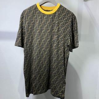 フェンディ(FENDI)のFENDI 半袖 Tシャツズッカ柄 FFロゴT(Tシャツ/カットソー(半袖/袖なし))
