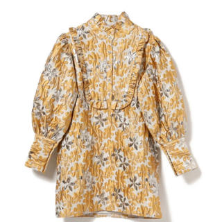 Ray BEAMS - sister jane Golden Fable Jacquard Dress