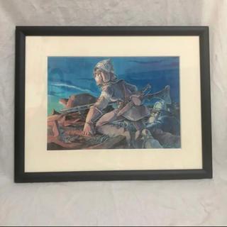 ジブリ - ジブリ 風の谷のナウシカ Original Art Display 複製原画