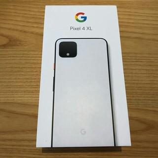 ANDROID - Google Pixel4 XL 128gb ホワイト 新品未使用 SIM解除済