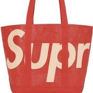 Supreme - Supreme Raffia Tote 赤