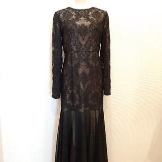 ビーシービージーマックスアズリア(BCBGMAXAZRIA)のBCBG ゴージャス ロング ドレス 11号(ロングドレス)