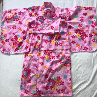 ミキハウス(mikihouse)のミキハウス  浴衣 サイズ120(甚平/浴衣)