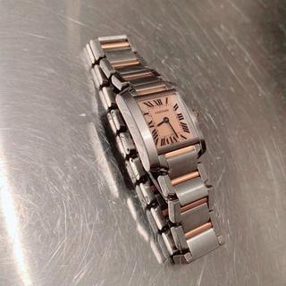 カルティエ(Cartier)のCartier*カルティエ タンクフランセーズ ピングゴールドコンビ(腕時計)