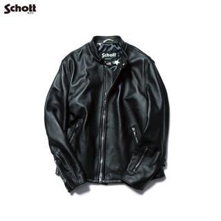 ショット(schott)のSOPHNET × SCHOTT シングル レザー ライダース ジャケット(レザージャケット)