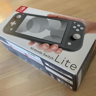 Nintendo Switch - SWITCH LITE 本体 新品未使用 グレー