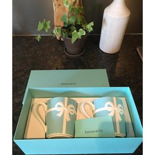 ティファニー(Tiffany & Co.)のティファニー マグカップ2個セット(グラス/カップ)