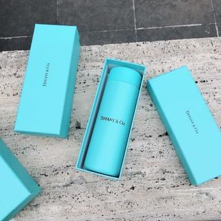 ティファニー(Tiffany & Co.)のティファニーステンレスミニボトル200mlブルーボックス入り(グラス/カップ)