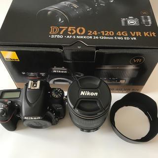 Nikon - Nikon D750 24-120 4G Kit