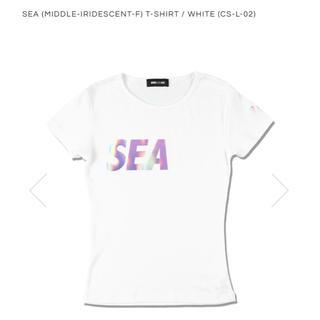 シー(SEA)のSEA (MIDDLE-IRIDESCENT-F) T-SHIRT(Tシャツ/カットソー(半袖/袖なし))