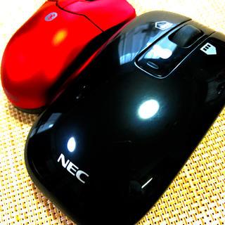 NEC - NEC Bluetooth人気純正マウス& Bluetooth超小型マウス
