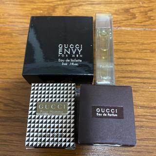 グッチ(Gucci)のGUCCI 香水 ミニボトルセット(香水(男性用))