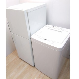 MUJI (無印良品) - 無印良品 レトロ バータイプ 冷蔵庫 洗濯機 無印良品 シンプルデザインセット