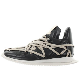 リックオウエンス(Rick Owens)のRICK OWENS MAXIMAL RUNNER BLK AS SAMPLED(スニーカー)