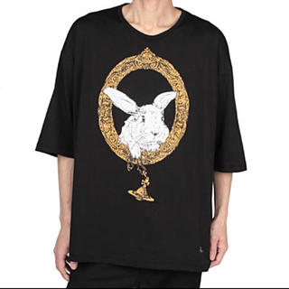 ヴィヴィアンウエストウッド(Vivienne Westwood)のヴィヴィアン バニーインフレーム ビッグTシャツ(Tシャツ/カットソー(半袖/袖なし))